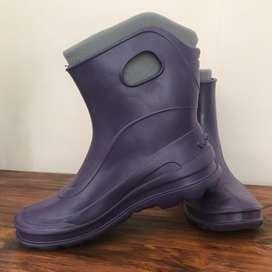 Botas de lluvia con abrigo Quechua nuevas