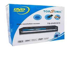 Reproductor Dvd Topsonic Usb