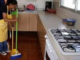 Ofrezco mis servicios como domestica servicios generales
