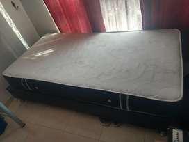 Base cama más colchón de 1,20