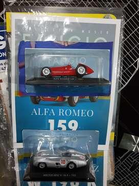 Colección Fangio escala auto combo