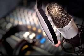 Grabo y edito Audio - publicidad