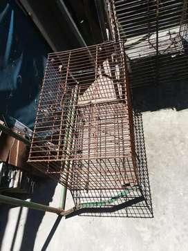 5 Jaulas para conejos / coballos / gallinas