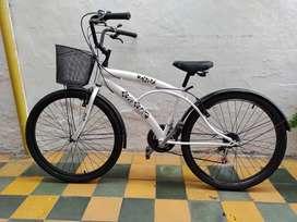 Bicicleta playera urbana para mujer