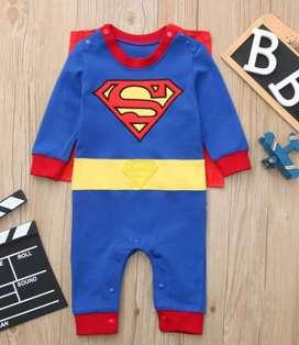 Vendo disfraz de superman para bebe