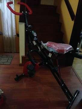 Bicicleta estática para ejercicios
