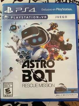 Astro bot - juegos ps4