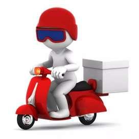 Ago delivery y transporte en moto lineal