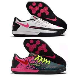 Guayos zapatillas Futsal microfutbol Nike phanton 2 colores