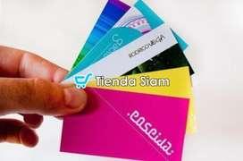 Tarjetas Personales 4/1 Full color x 1000