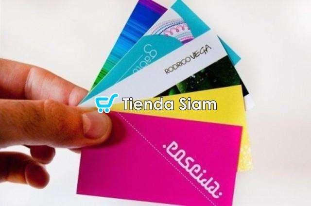 Tarjetas Personales 4/1 Full color x 1000 0