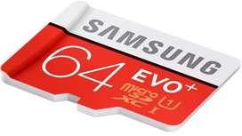 Memoria micro sd 64gb samsung evo+ U1 XC I ORIGINAL