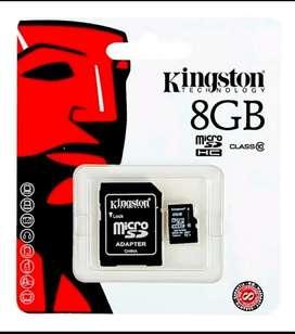 Memoria Kingston Micro SD 8GB