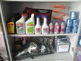 Repuestos Honda filtros, aceite originales caja  dirección hidráulica