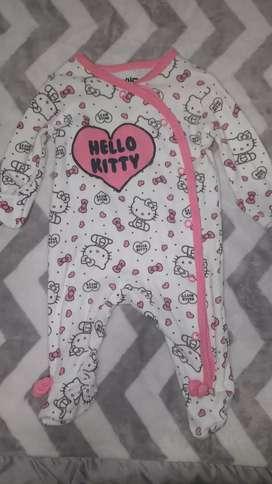 Enterito ropa bebé beba recién nacido Hello Kitty