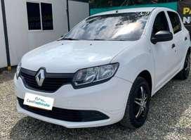 Renault Sandero Authentique 2017 ¡Págalo fácil en cuotas bajas!