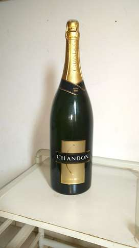 Botella Chandón 3 litros Decoración, ideal  lámpara o Manualidad