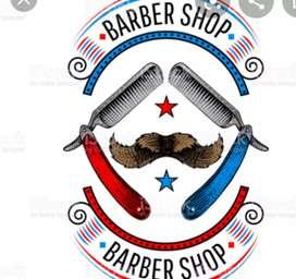 solicitó barbero con experiencia