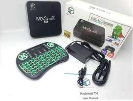 Tv Box 2 Gigas Y 16 En Ram,4k, Android 10 + Control Smart Tv, 5G