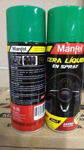 Cera Liquida en Spray Caja X12 loo