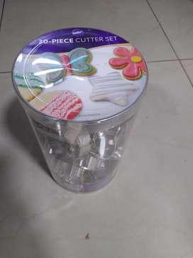 SET VARIADO Cortadores galletas y fondant