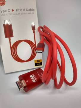 CABLE TIPO C A HDMI 2M
