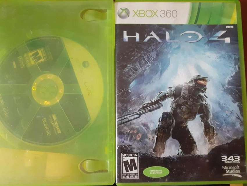 Vendo Halo 3 y 4 Originales - Compatibles Xbox One 0