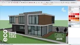 Construye la casa de tus sueños moderna, segura y sustentable.