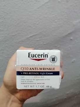 Crema Facial Eucerin Antiarrugas Q10 Con Retinol Noche