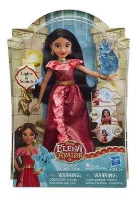 Muñeca Princesa Elena De Avalor con Luz y sonido Hasbro