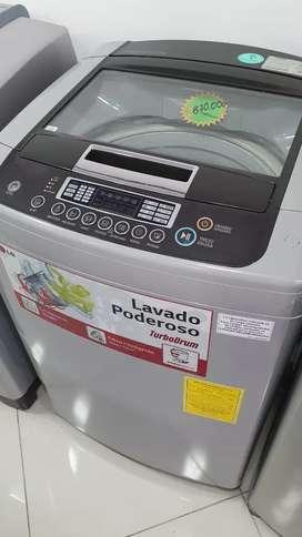 Vendo lavadora lg de 37 libras turbo drum