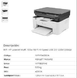 Impresora Multifunción Wi-Fi USB 2.0