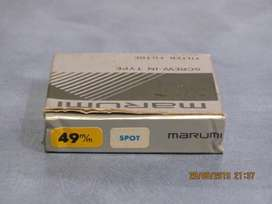 Filtro Marumi Spot 49 mm. Nuevo. Estuche Original.