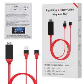 Cable Mhl Celular a Tv