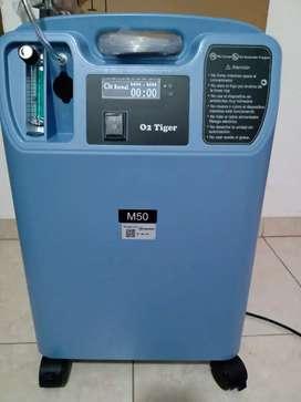 Concentrador de oxígeno medicinal en alquiler