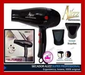 Secadoras de Cabello Profesionales Alizz 2400W y 25000 Iones
