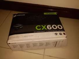 Fuente de poder Corsair CX600 (casi nueva)