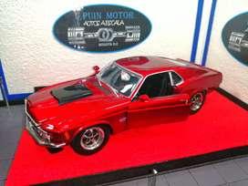Ford Mustang Boss 429 - autos colección - carros a escala