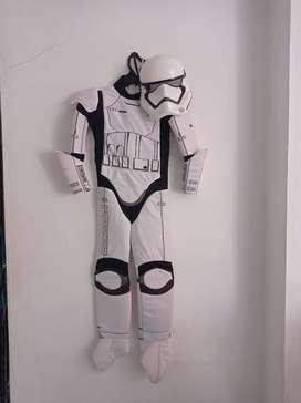 disfraz de stromtrooper star wars talla 8