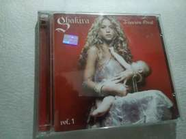 Cd+Dvd Shakira Fijación Oral Vol.1