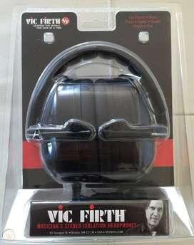 Audífonos Stereo de Aislamiento SIH1 VIC FIRTH