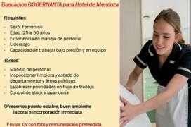 GOBERNANTA para Apart Hotel de Ciudad de Mendoza