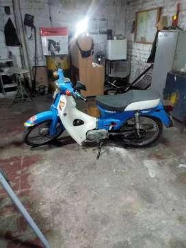 Vendo moto barata honda c70