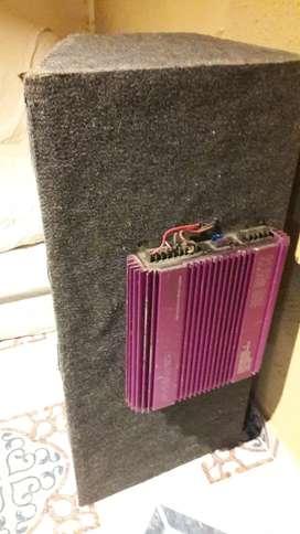 Vendo caja audio con 4 parlantes .precio negociable
