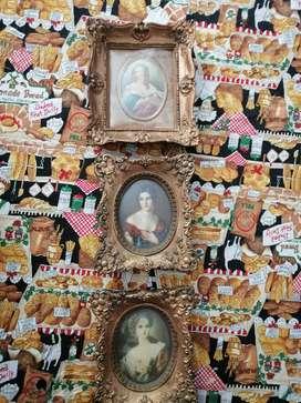 Antiguos porta retratos franceses Cameo creation