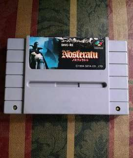 Nosferatu Super Nintendo