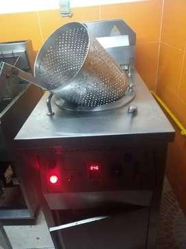 Maquina Broaster presurizada / Pollo