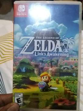 Zelda link's awekening en caja para Nintendo switch