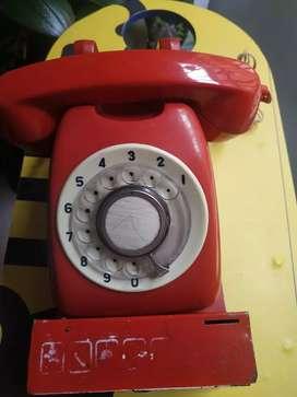 Teléfono antiguo monedero