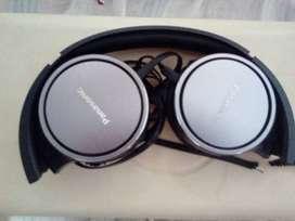 Auricular Panasonic Rp Hf500e (ficha rota). )
